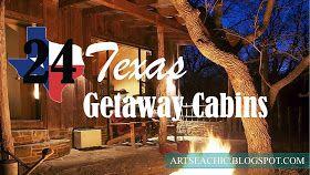 ArtSea Chic: 24 Texas Getaway Cabins