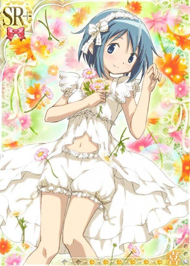 Madoka Magica Wedding Dresses Mobile Game Character Art