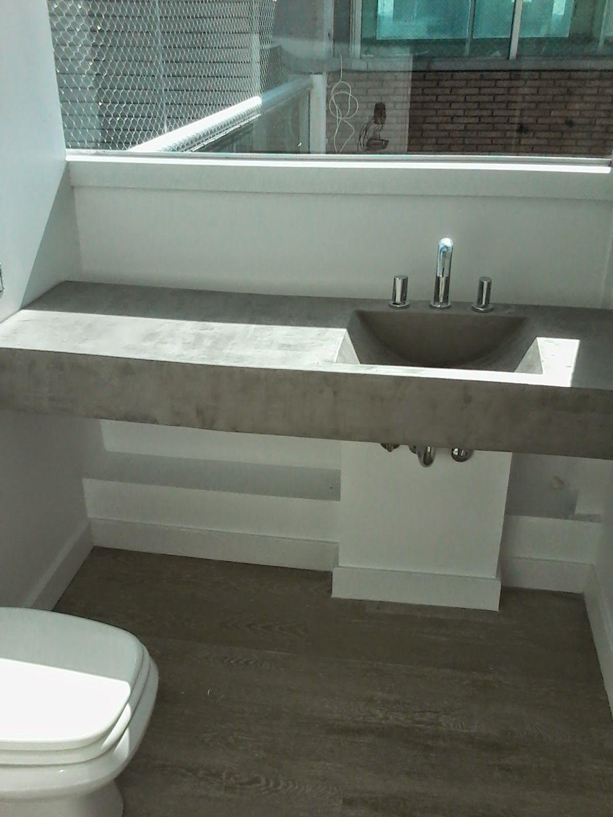 Mesas De Concreto Para Cocina Buscar Con Google Bano De Cemento Imagenes De Banos Cemento