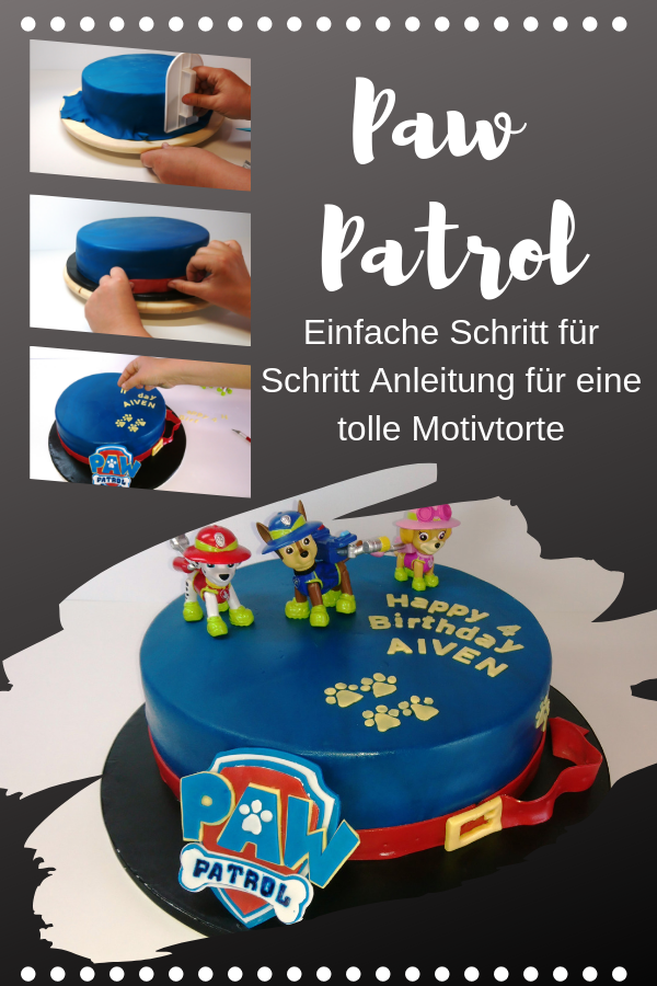 Photo of Paw Patrol Cake – Motif Cake Tutorial – The Cake –