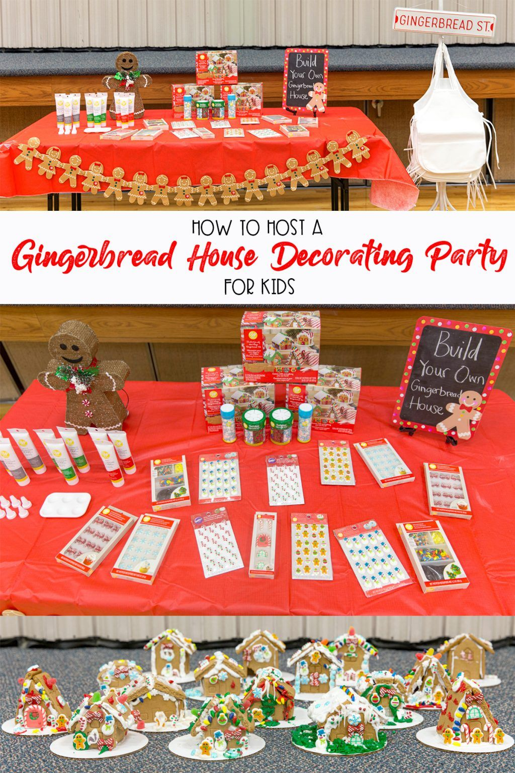 How To Host A Gingerbread House Decorating Party For Kids