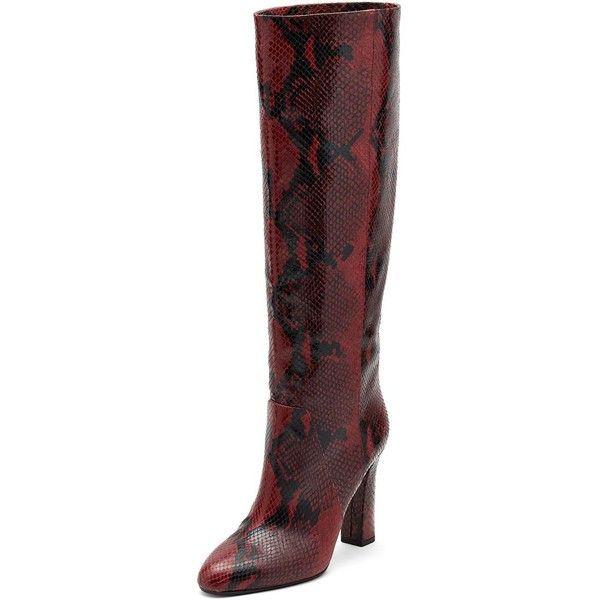 Designer Clothes, Shoes & Bags for Women | SSENSE. Snakeskin BootsLeather  BootsSnake Skin ShoesSnake PrintPythonDiane Von FurstenbergHeel ...