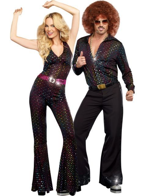 74929cfd62 Disco Couples Costumes - Party City- Our local party stores always have  great disco costume options year around!