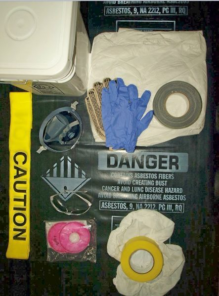 Is do it yourself asbestos removal legal featuring a self contained kit with asbestos abatement supplies solutioingenieria Choice Image