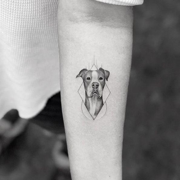 Pin By Gina Suarez On Tattoos Dog Tattoos Dog Portrait Tattoo Dog Memorial Tattoos