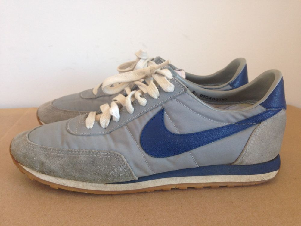 Mens Us 8 5 Original Vtg 80s 1982 Nike Diablo Waffle Running Shoes Exceptional Running Shoes Shoes Nike