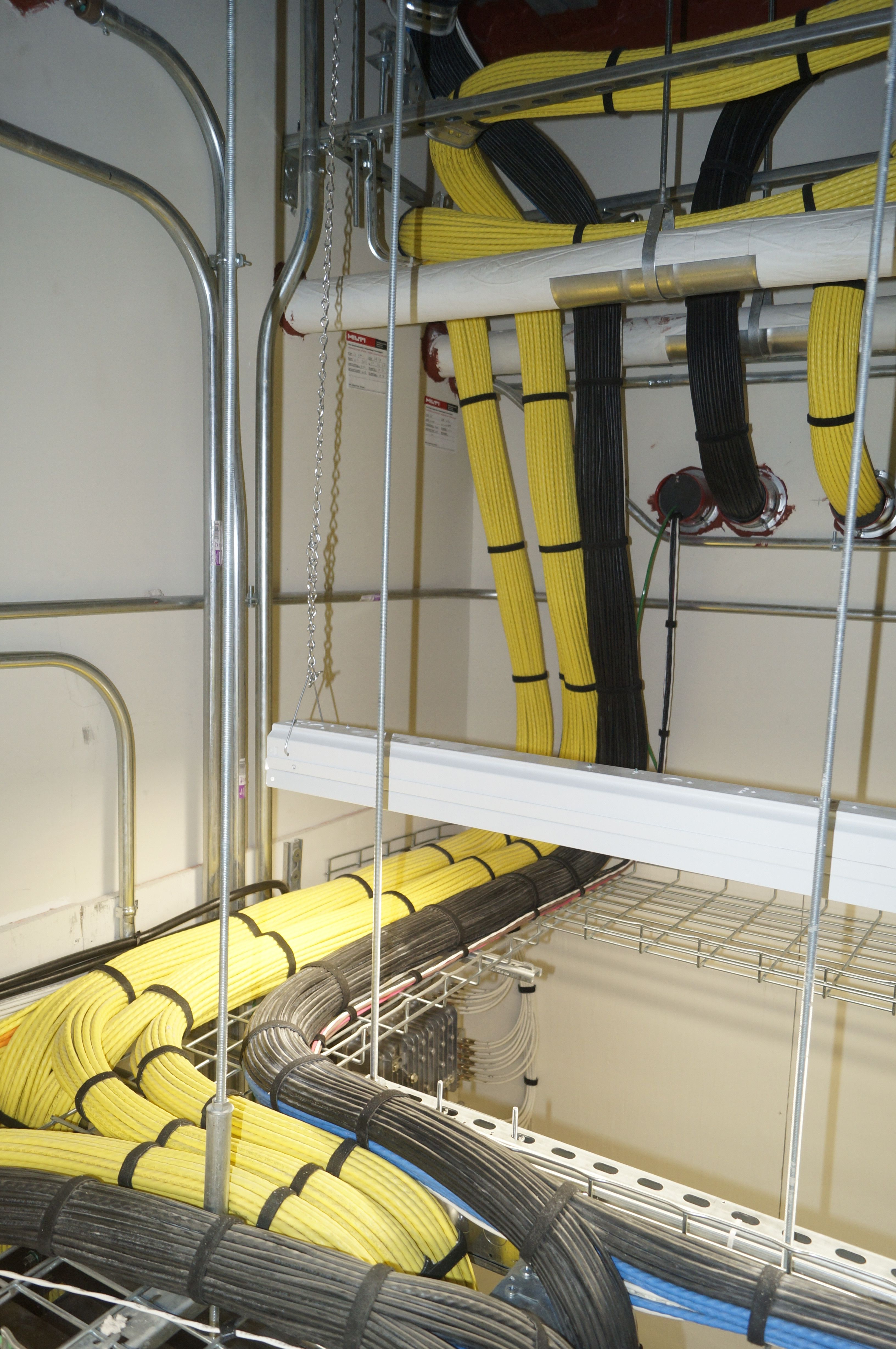 Structured Wiring Is The Cabling Infrastructure Where All Outside