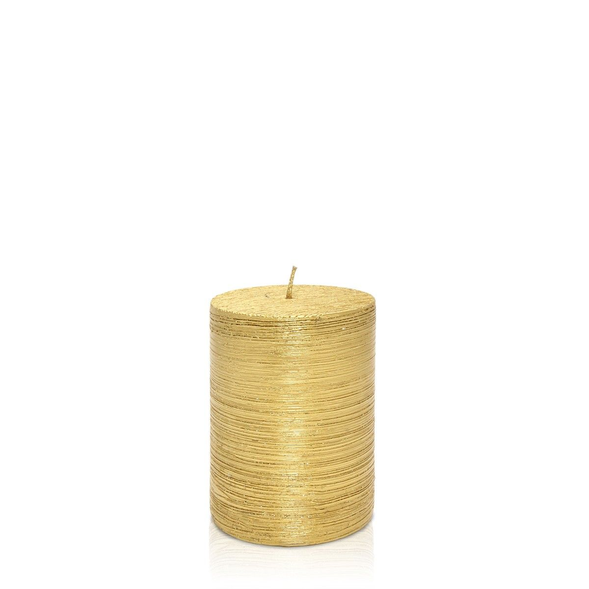 Buy Candles Online Buy Glitter Pillar Gold Candle Online In India They Say All That