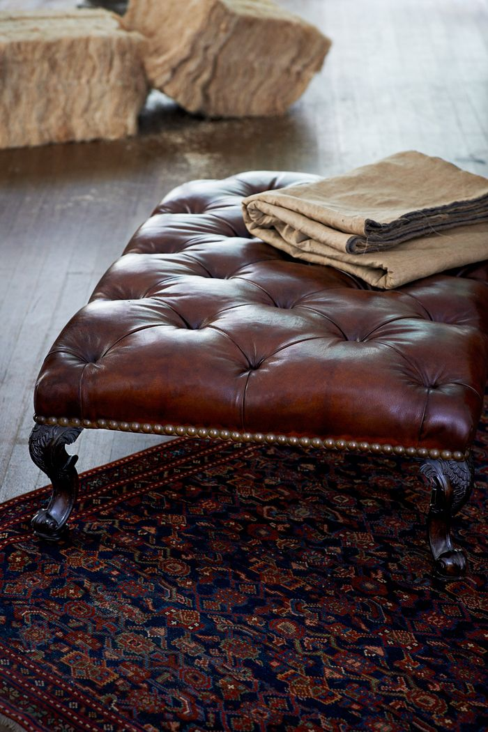 The Chatsworth House Cocktail Ottoman This Large Edwardian Tufted