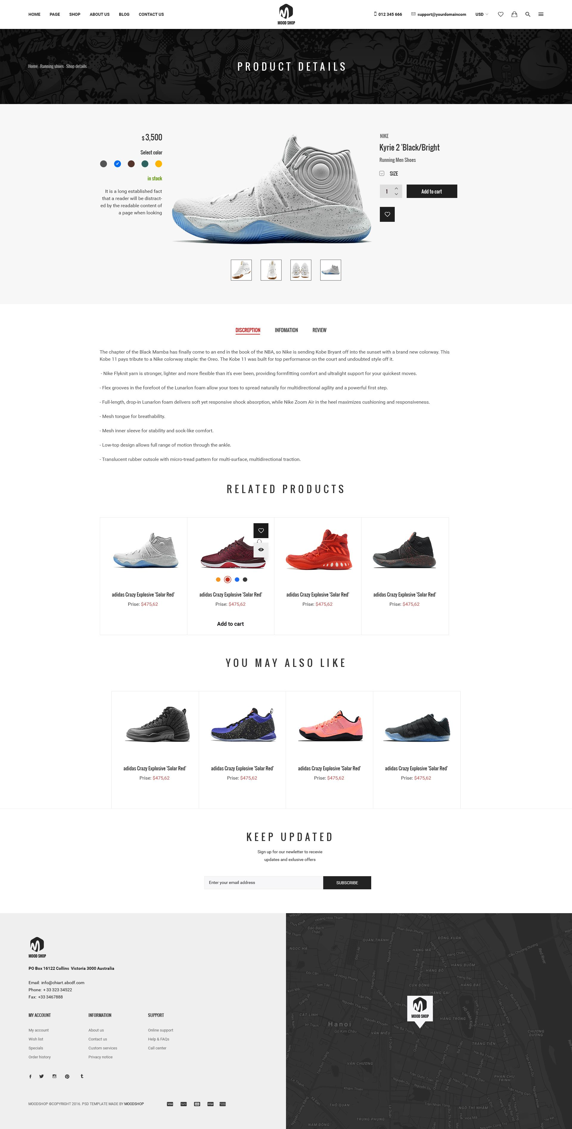 87e74fa2246a3 MoodShop - Modern eCommerce PSD Template for Selling Footwear Online ...