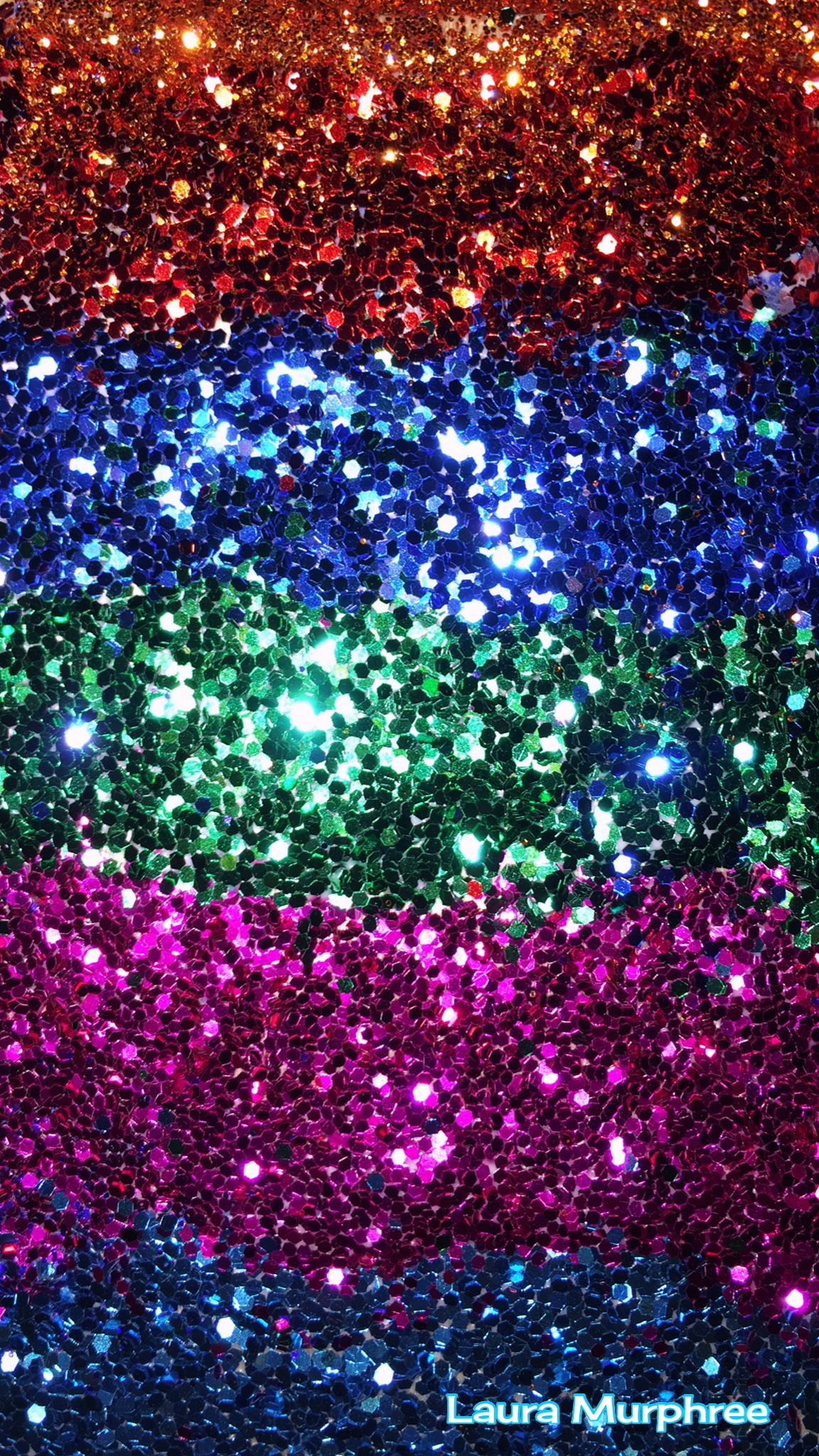 Glitter phone wallpaper colorful sparkle background