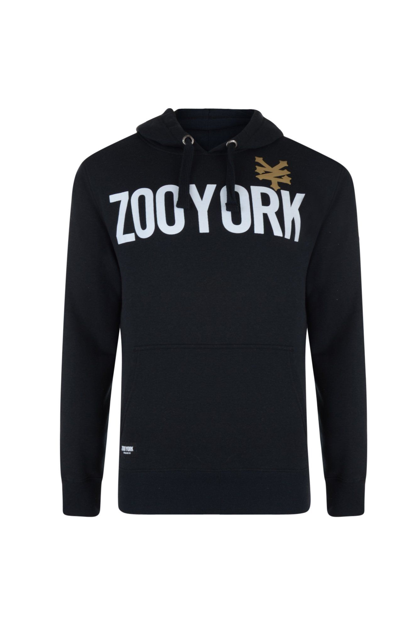 59d46986d Zoo York Mens Over Head Hoodie Hooded Sweatshirt Top With Logo Print ...