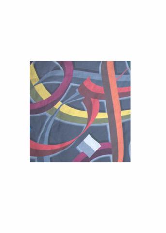 Mens Silk Pocket Square - violet dots by VIDA VIDA Qs6B5