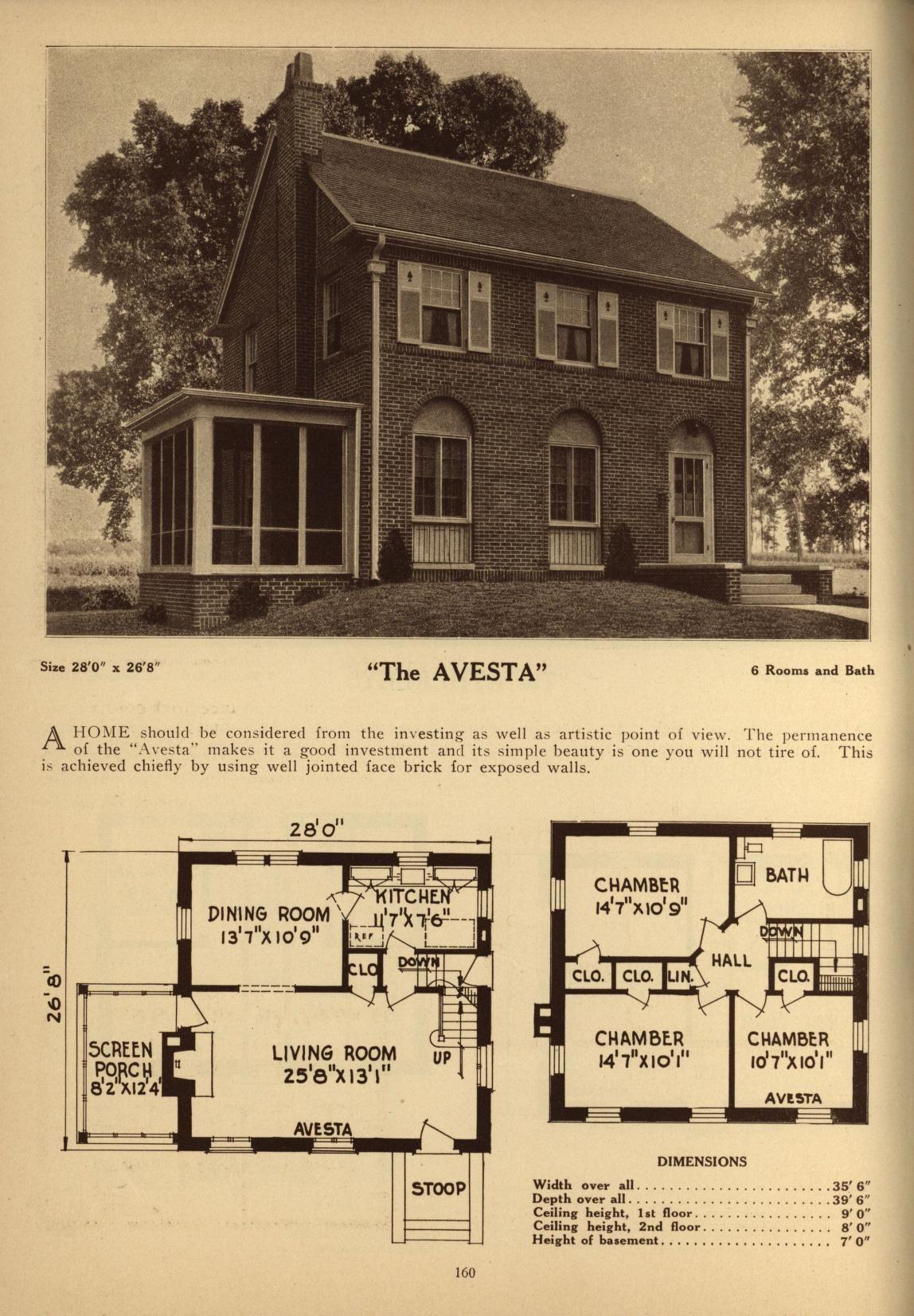 Deyo S Book Of Homes Vintage House Plans House Floor Plans Vintage House