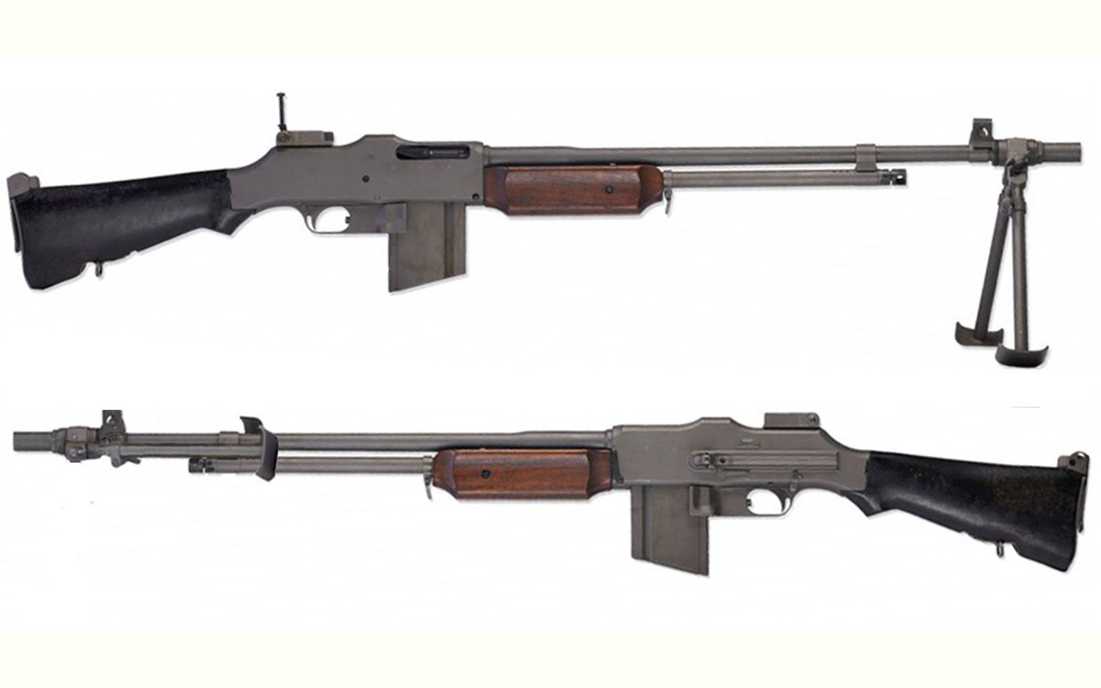 m1918 browning automatic rifle united states produced 1917 1950s