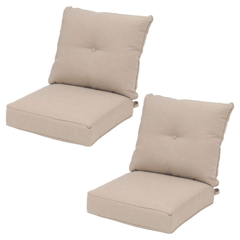 folwell 2pk deep seat back cushion navy blue threshold rh pinterest nz