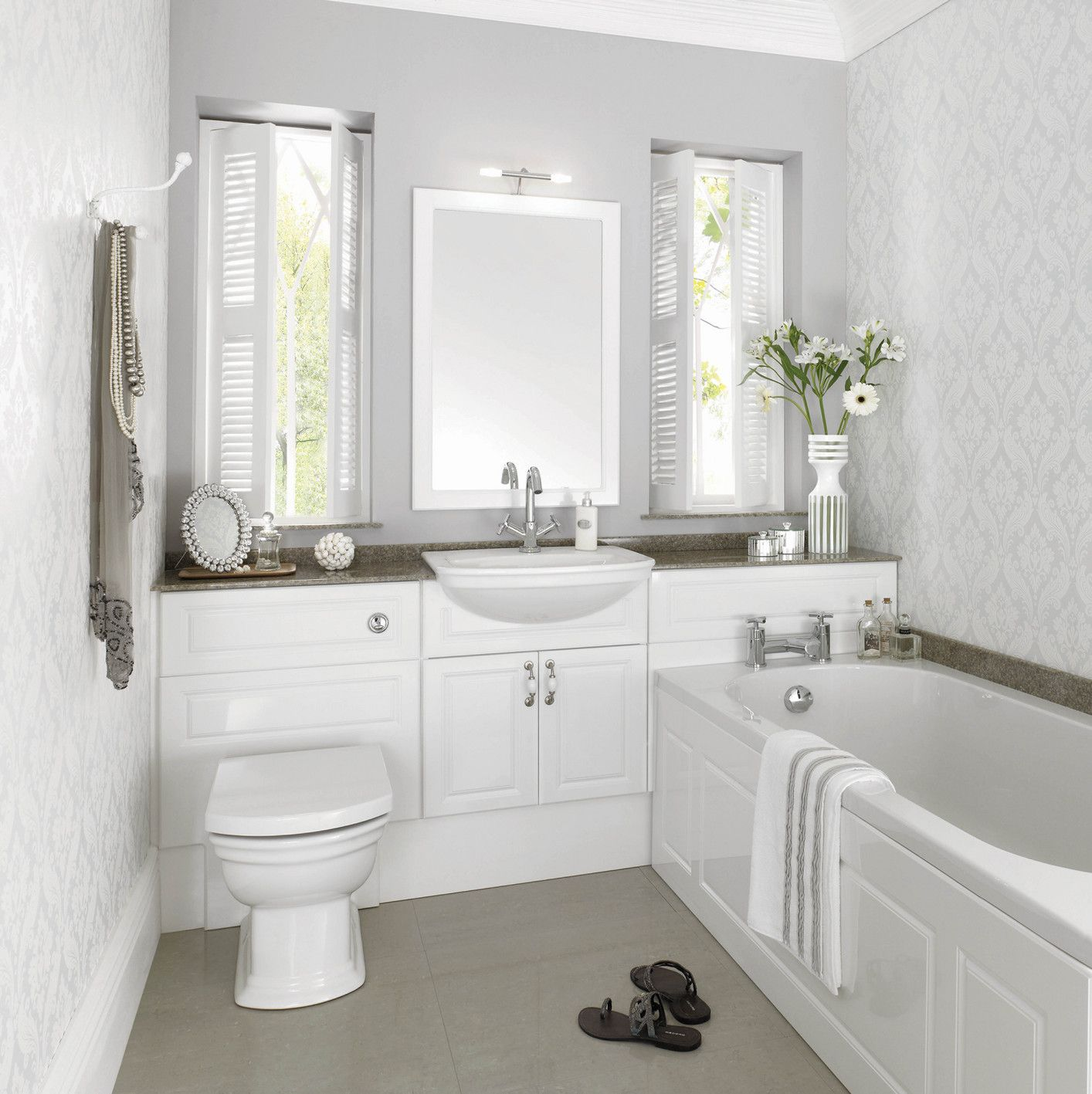 aegean gloss white main rgb0e57jpg 14141417 pixels fitted bathroom - Fitted Bathroom Ideas