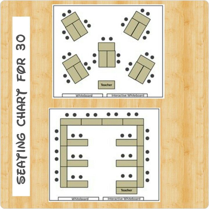 Seating Chart For 30 Students Classroommanagement Classroom