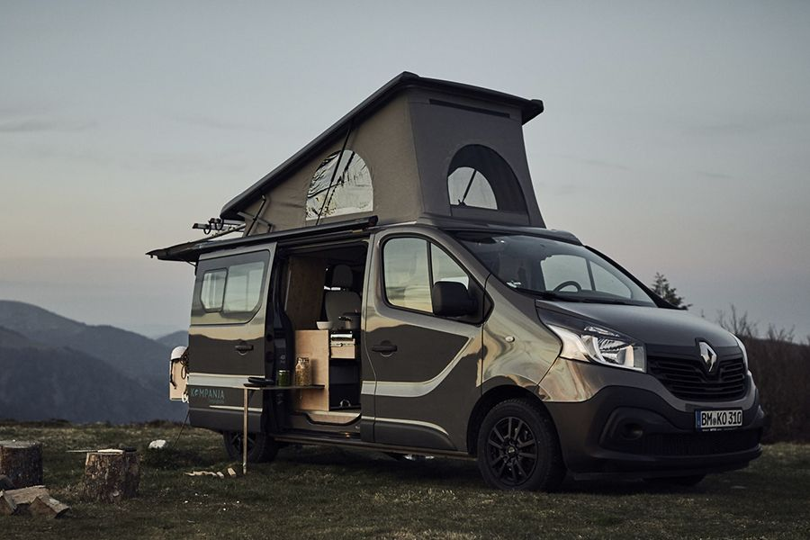 the kompanja camper van is german engineering luxury rh pinterest com