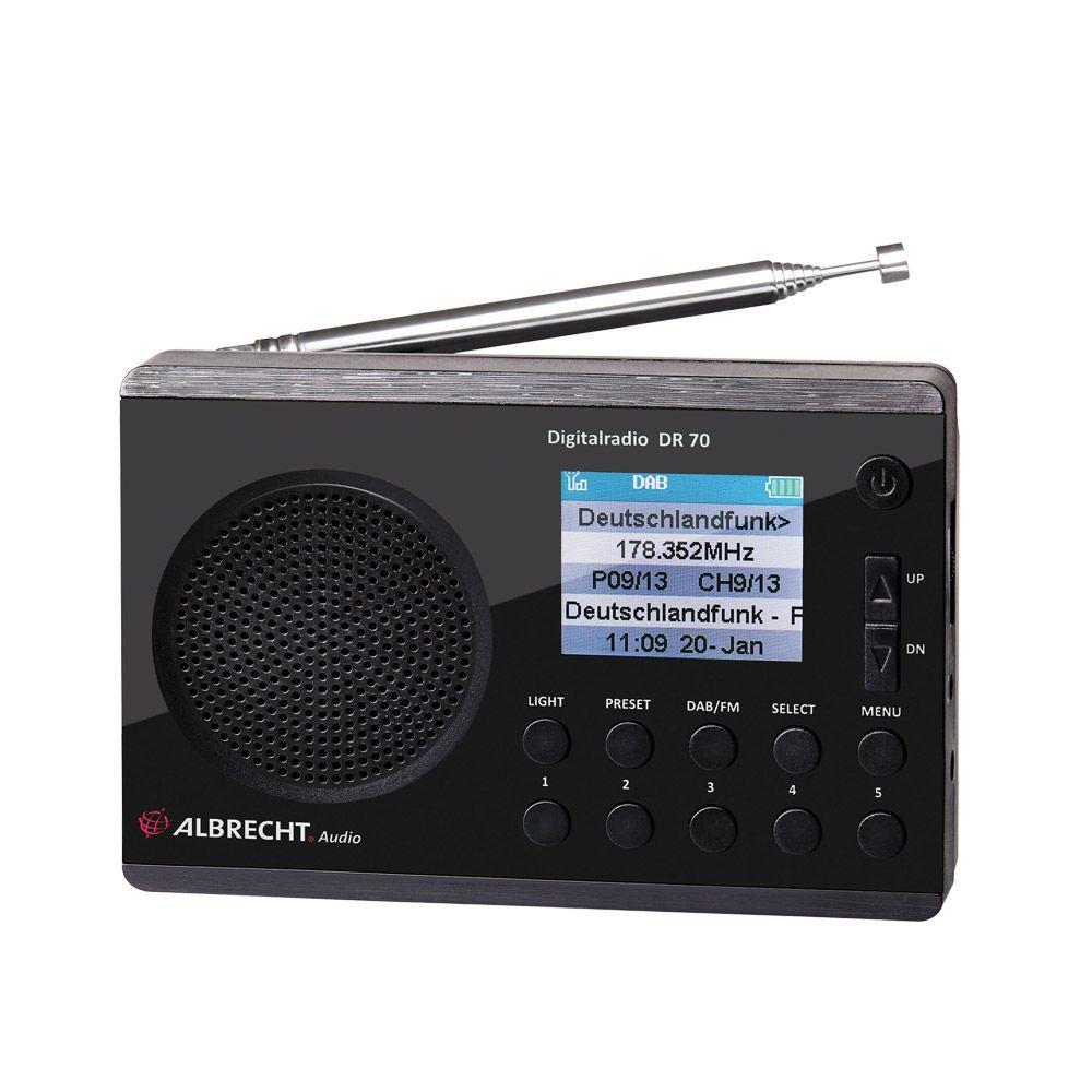 Albrecht Dr70 Incl Dab Mit Bildern Digitales Radio Usb Hifi