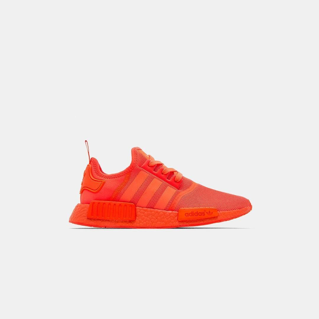 best website 98f18 bbf36 The Adidas NMD R1 Solar Triple Red S31507 Restocks Today
