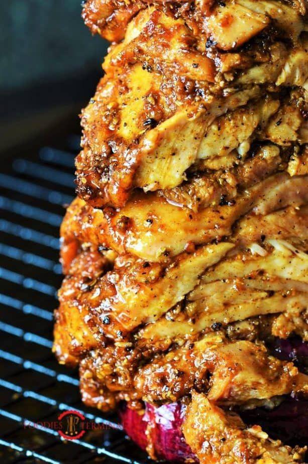 Photo of Authentic Greek Chicken Gyros Recipe with Tzatziki Sauce
