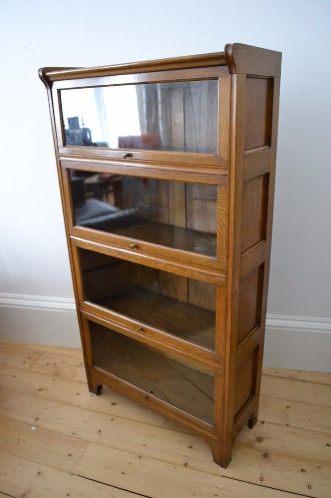 vintage antique 1930 s kenrick jefferson ltd lawyers bookcase oak rh pinterest com