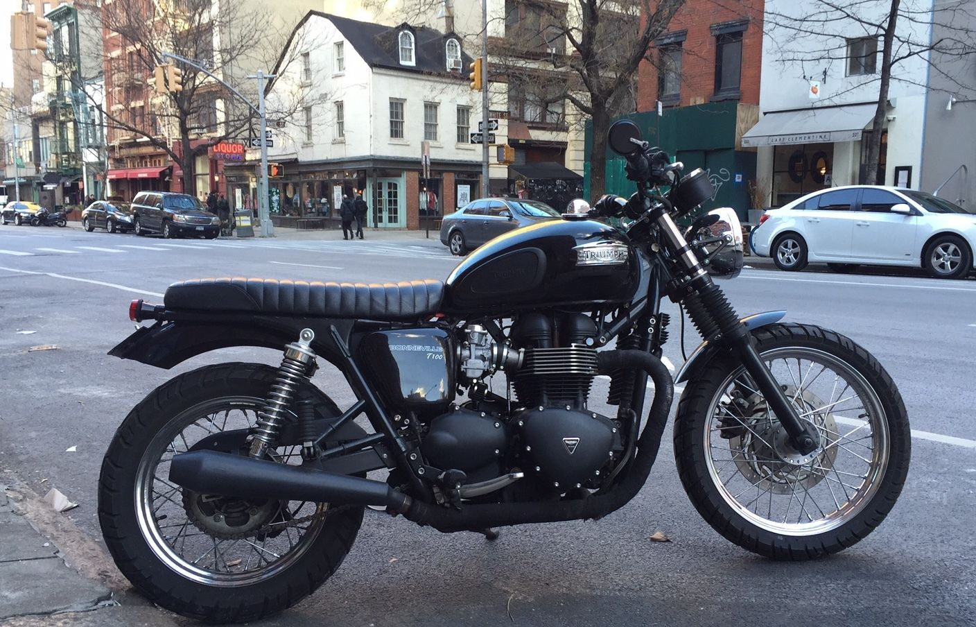 2013 Triumph Bonneville T100 custom cafe racer | Cafe racers for ...