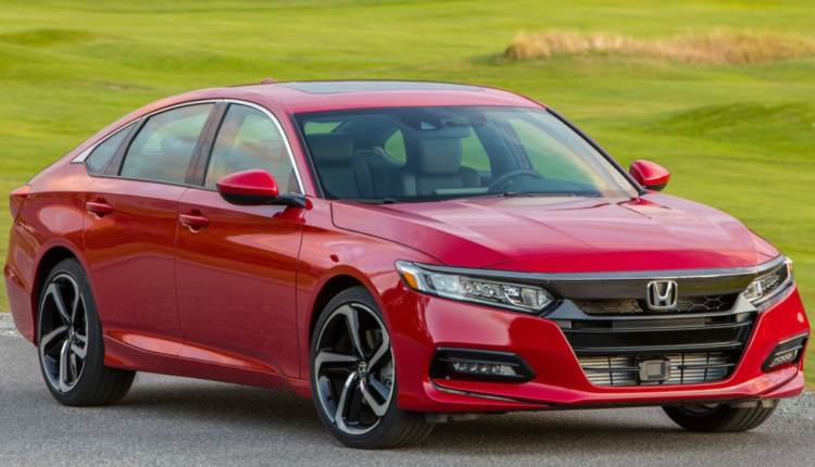 2018 Honda Accord Exterior Colors