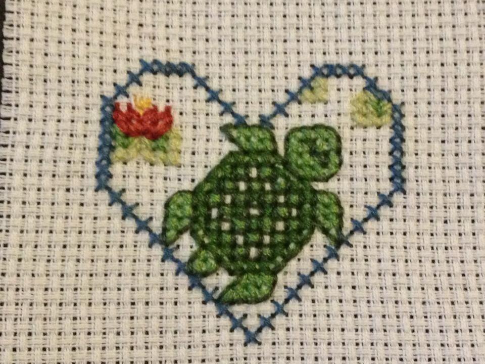 Cross Stitch Turtle | My Projects | Pinterest
