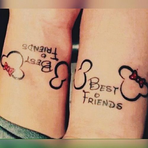 100 Unique Best Friend Tattoos with Images   Friend tattoos, Tattoo ...