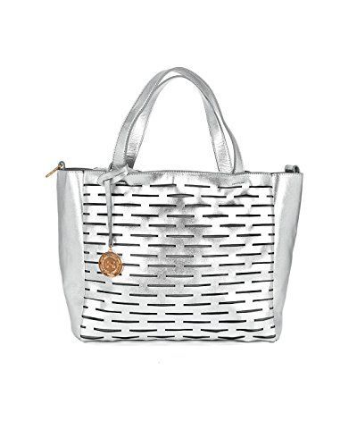 3e3fdf2827 Coco Carmen Womens Elle Tote Silver     See this great product.Note ...