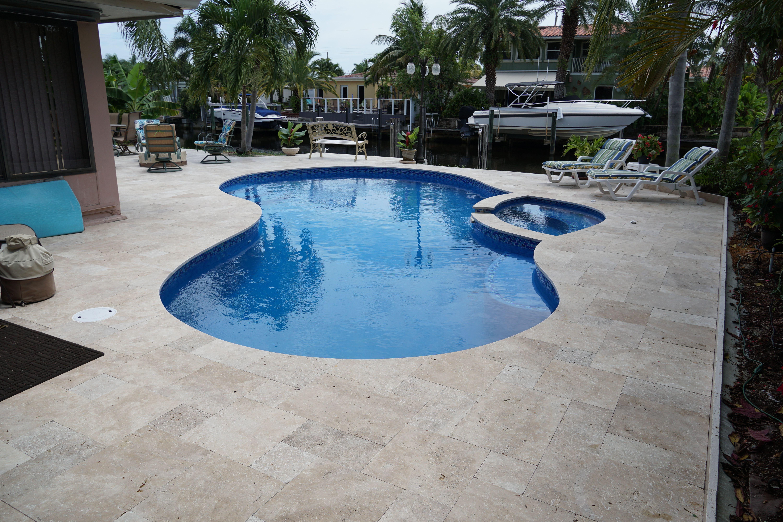 medium natural travertine pavers pool deck transitional pool decks rh pinterest com