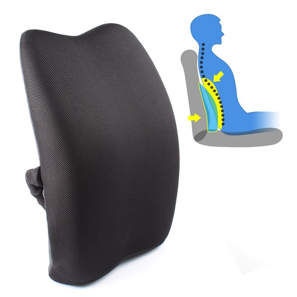 Posture Support Seat Cushion Office Chair High Back Recliner Pinterest Pillows
