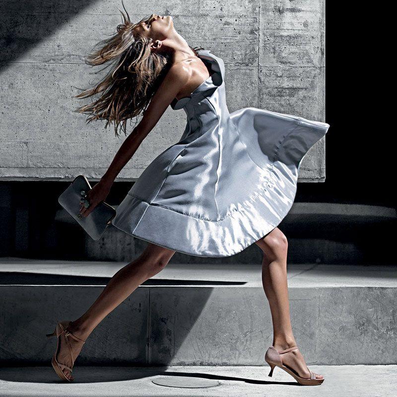 Anna Selezneva by Mario Sorrenti for Emporio Armani Spring 2011 Campaign