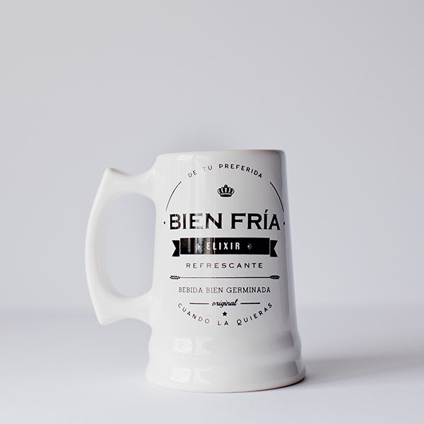 Jarra Cervecera by Narciso y Priscila. Decohunter. Regalos originales. ideas de regalo. Amor y amistad. Encuentra dónde comprar este diseño y Producto en Colombia.