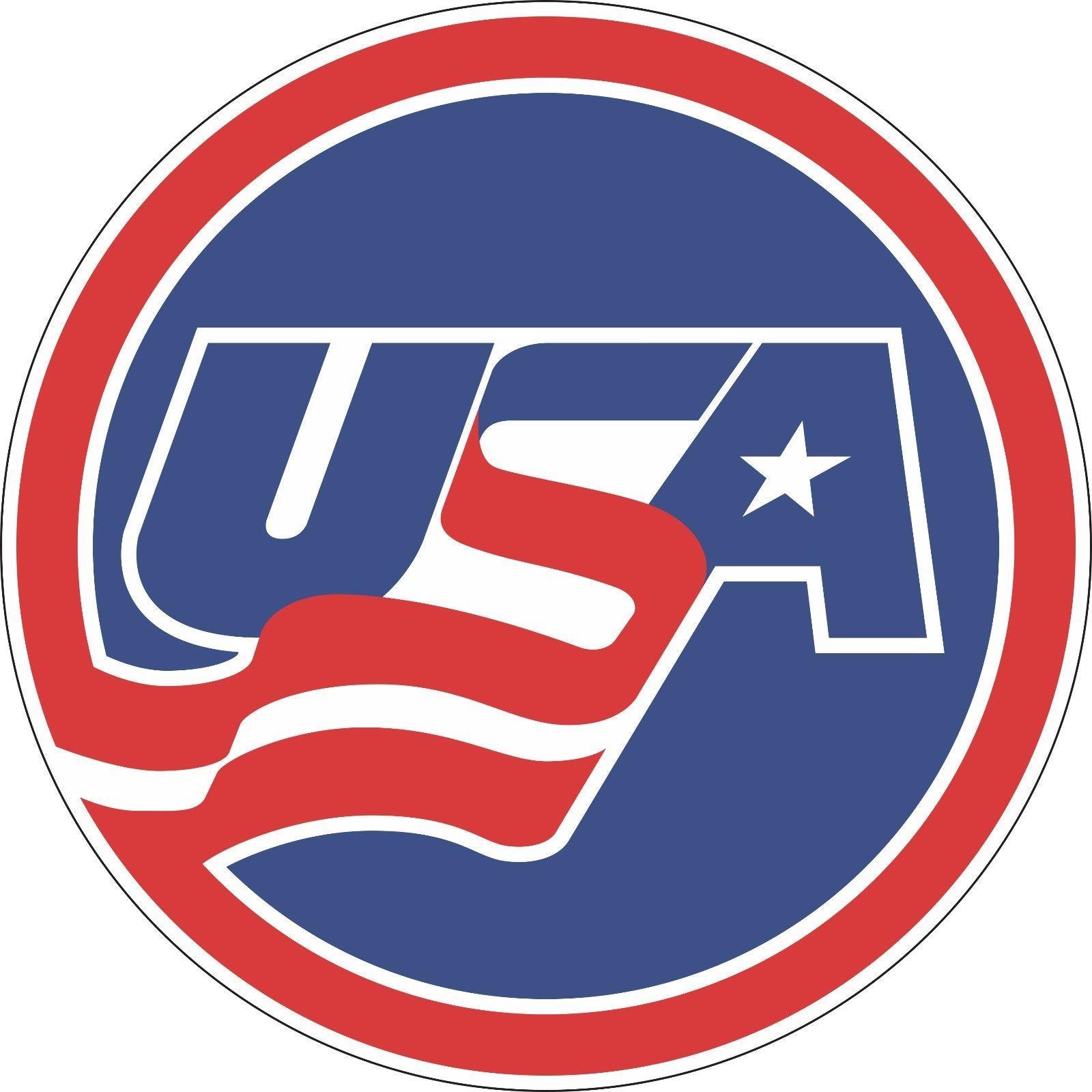 3 Team Usa Hockey Bumper Sticker Window Wall Decor