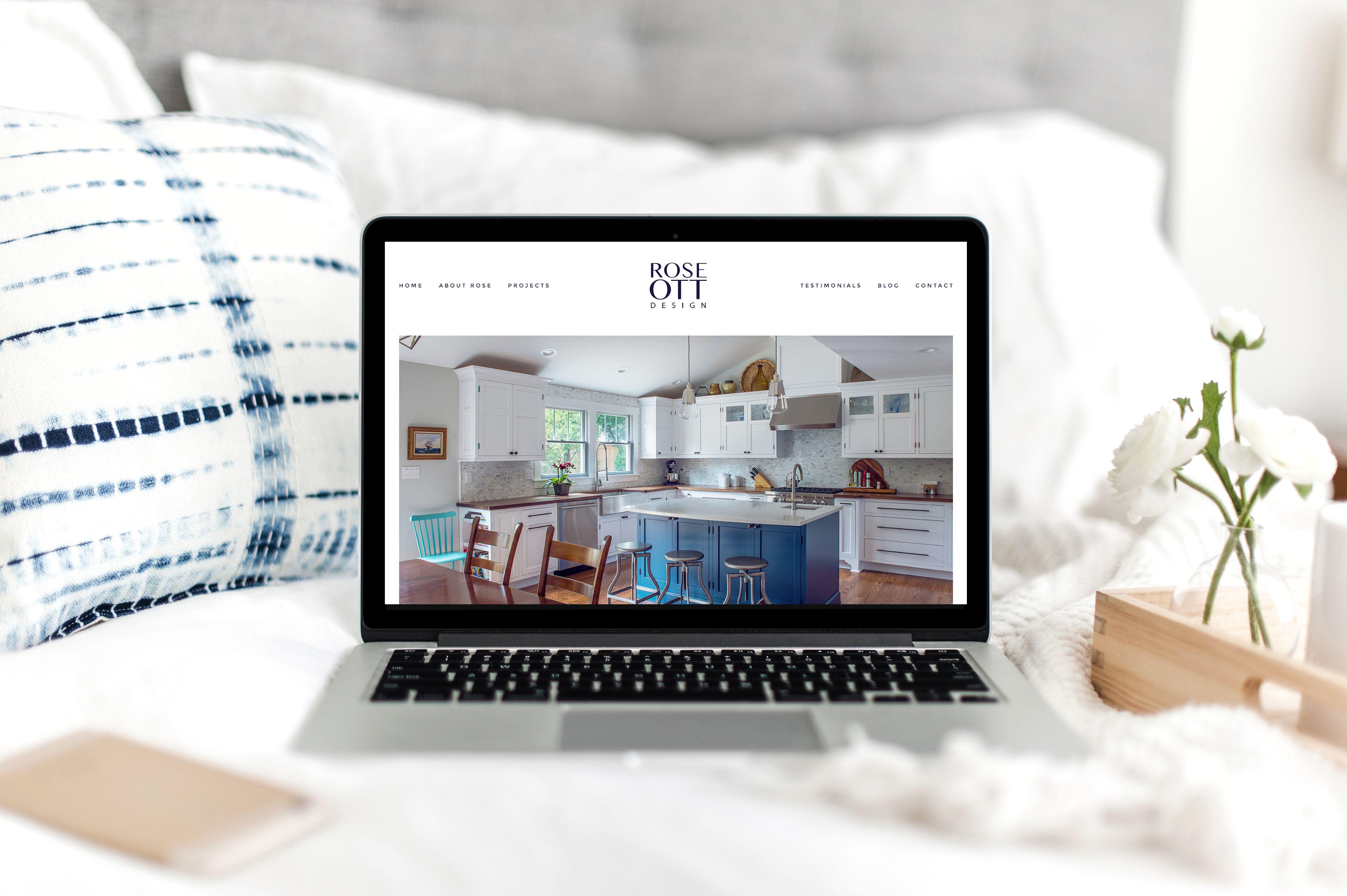 interior design website design by studio lavi web design web rh pinterest com