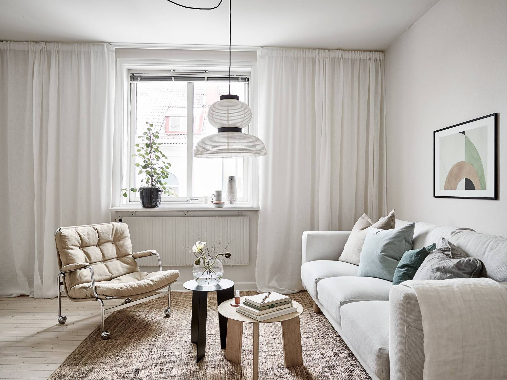 Get the look: Living room in a warm palette COCO LAPINE