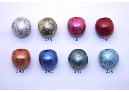 kraal acrylic bol onregelmatige vorm - 17035MB
