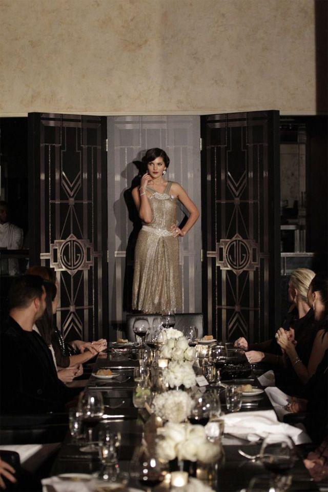 theme gatsby le magnifique les annees folles decoration de la table les ann es folles. Black Bedroom Furniture Sets. Home Design Ideas