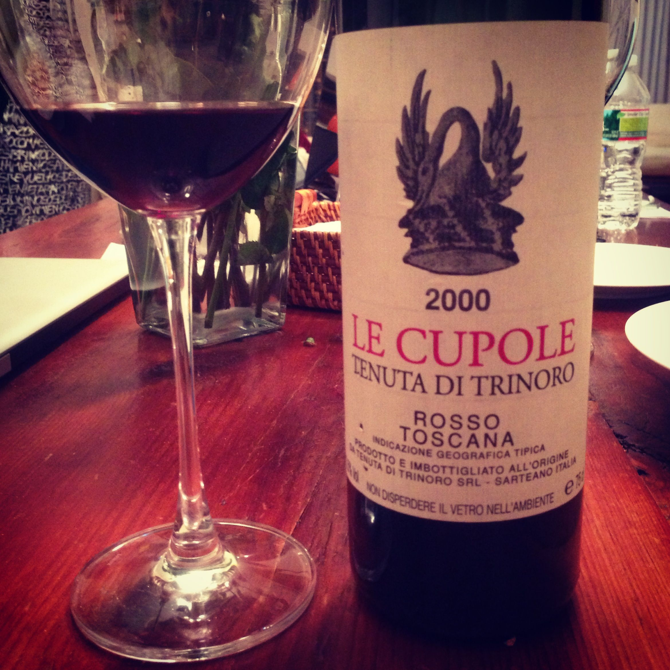 2000 Le Cupole Is Amazing Tonight This Producer Is Amazing Wine Wine Bottle Alcoholic Drinks Wine