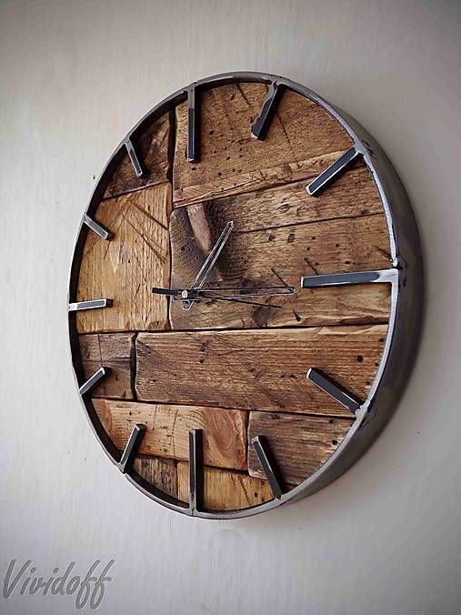Photo of Vividoff / Clock Wand Palette-Industrie4 – Holz ideen ,  #Clock #diyholz #Holz #Ideen #Palett…