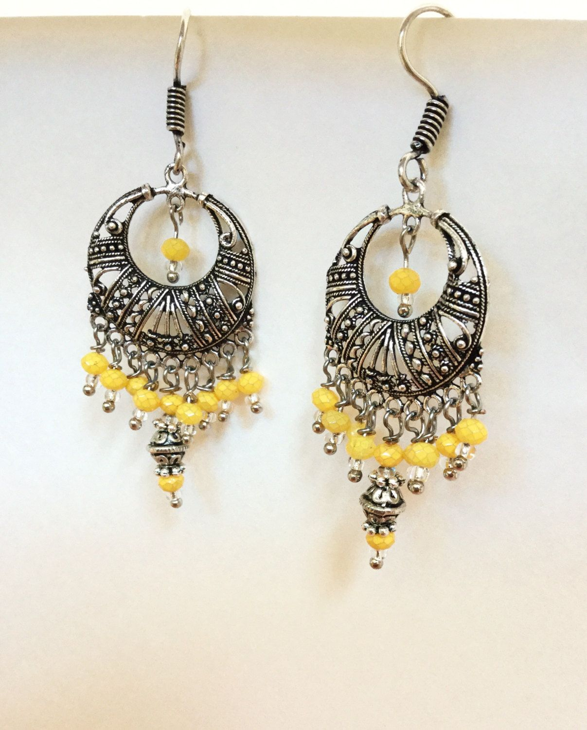 Antique silver yellow chandelier earrings chandeliers antique antique silver yellow chandelier earrings arubaitofo Gallery