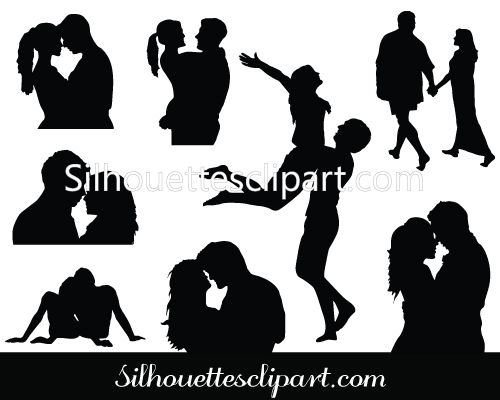 Valentines Couple Vector Graphics Canvas Crafts Pinterest