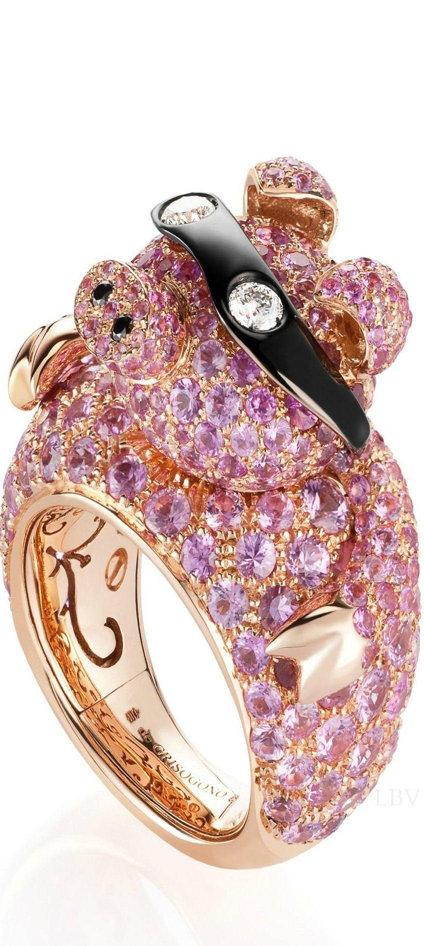 de Grisogono     Pitzotl   Pinterest   Pink ring, Ring and Jewel
