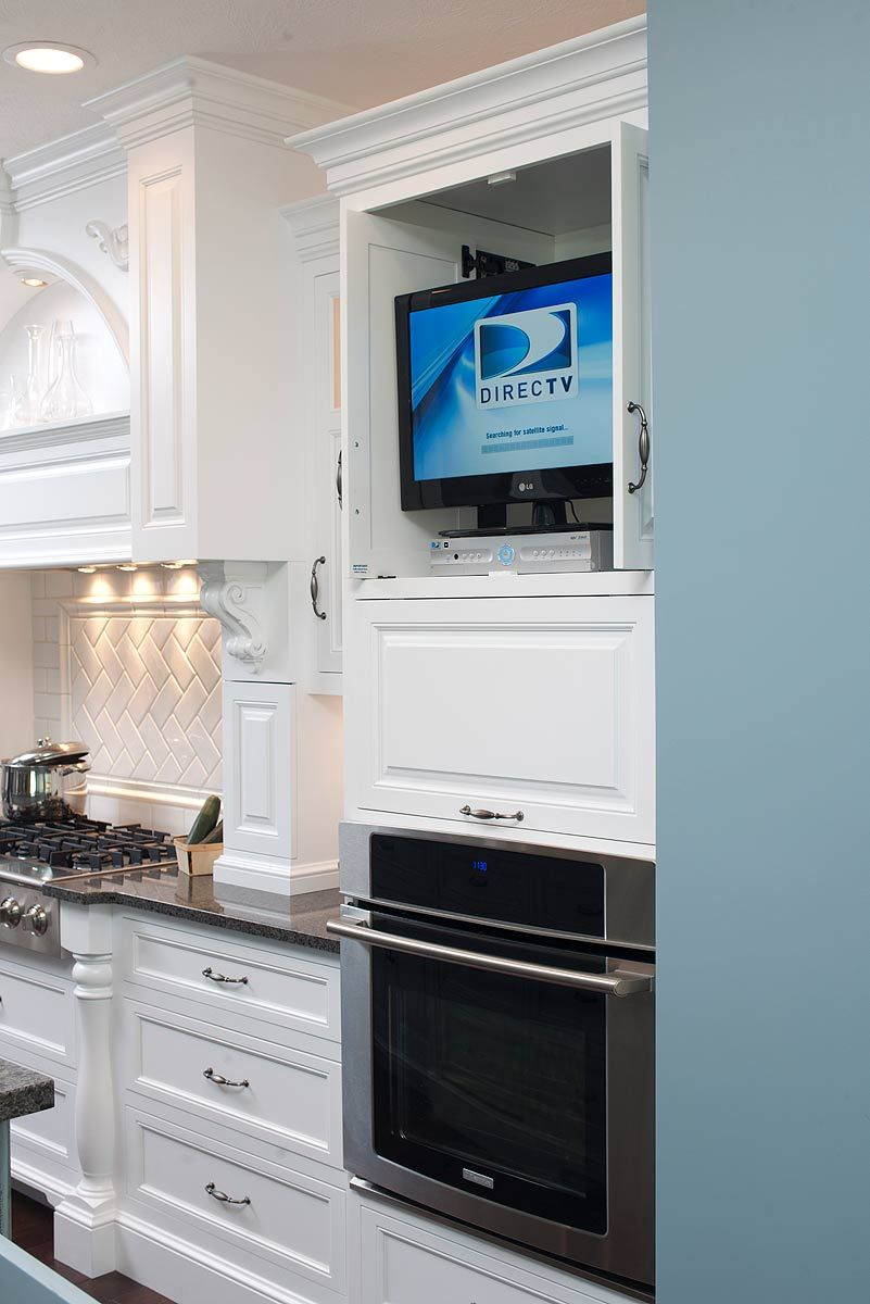 hidden tv storage cabinet cabinet accessories kitchen cabinets rh pinterest com