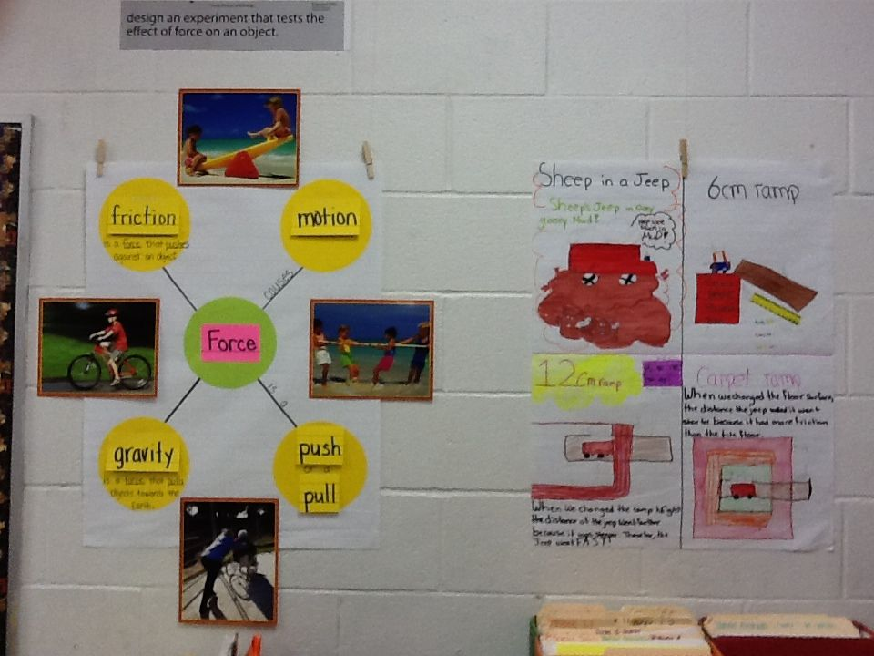 Force and motion Interactive word wall  TEK 5 6D | 5th grade