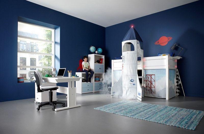 Rocket Launch Bedroom Furniture Space Themed Bedroom Kids Bed Design Childrens Cabin Beds