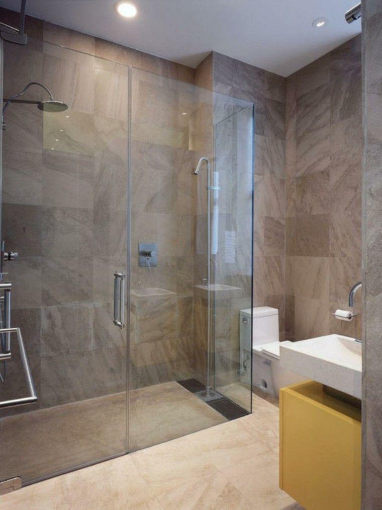 Baños pequeños con ducha - 38 diseños de moda | Baños | Baños ...